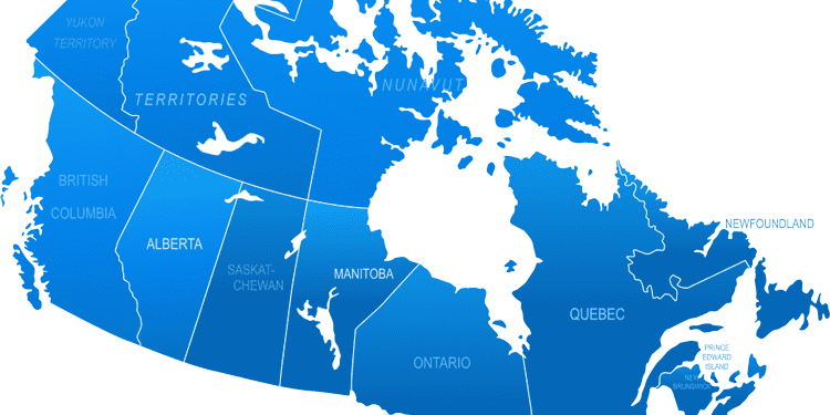Map of Canada 5